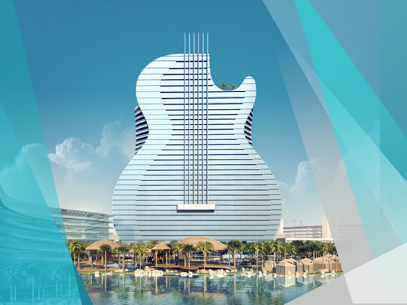 Perierga.gr - Ασυνήθιστο και εντυπωσιακό ξενοδοχείο σε σχήμα κιθάρας