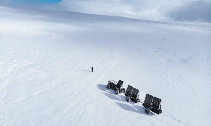 Perierga.gr - Ταξίδι στην Ανταρκτική με ένα 3D εκτυπωμένο όχημα