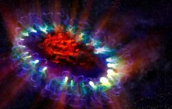 Perierga.gr - Timelapse βίντεο αποκαλύπτει 25 χρόνια ζωής ενός αστέρα που εκρήγνυται