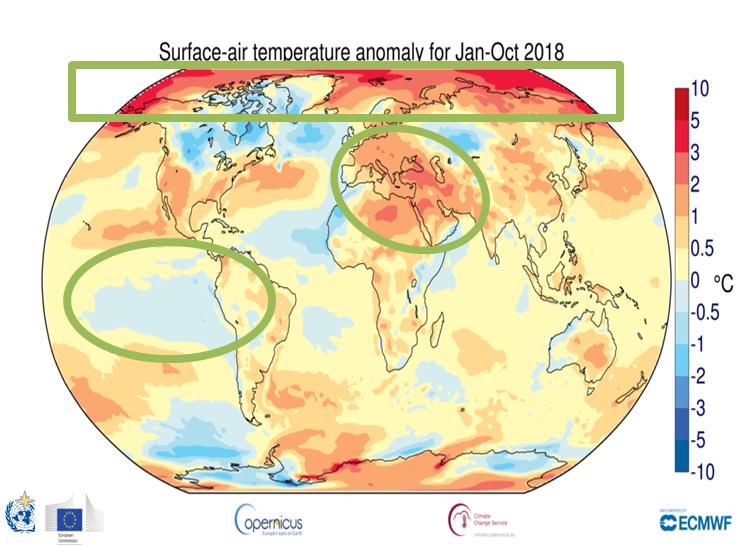 Perierga.gr - Οι τέταρτες υψηλότερες θερμοκρασίες του πλανήτη έχουν σημειωθεί το 2018