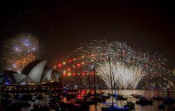 Perierga.gr - Η Αυστραλία υποδέχτηκε το 2019 με εντυπωσιακά πυροτεχνήματα!