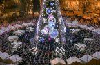 Perierga.gr - Ένα ασυνήθιστο δέντρο σηματοδοτεί την έναρξη των Χριστουγέννων στο Βίλνιους