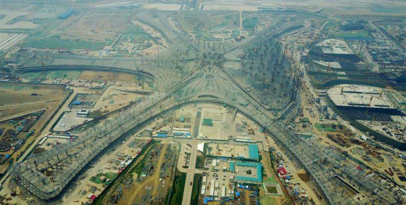 Perierga.gr - Ένα κατασκευαστικό... αριστούργημα θα είναι το νέο αεροδρόμιο του Πεκίνου