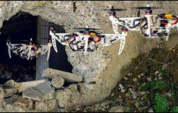 Perierga.gr - Drones Μικραίνουν το μέγεθός τους για να χωρούν σε μικρά ανοίγματα