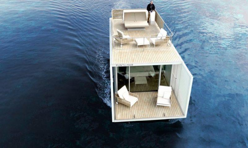 Perierga.gr - Ένα δωμάτιο ξενοδοχείο που... ευδοκιμεί σε ξηρά και θάλασσα!