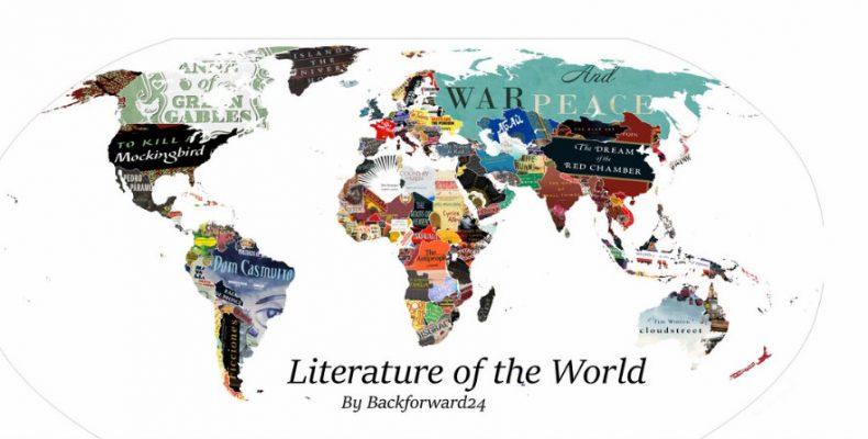 Perierga.gr - Το πιο αγαπημένο βιβλίο κάθε χώρας (χάρτης)