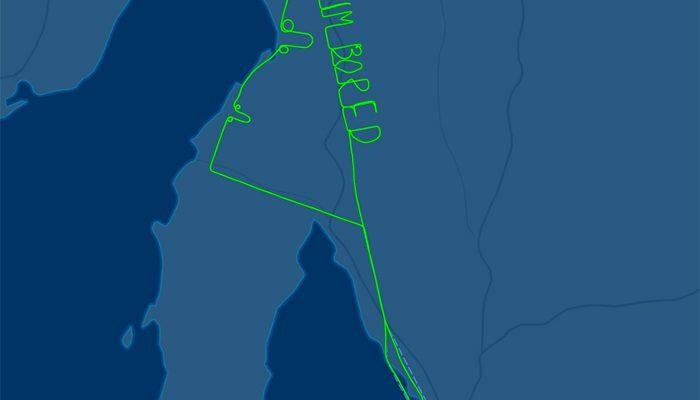 Perierga.gr - Ένας πιλότος που βαριέται... και το δείχνει με τον πιο περίεργο τρόπο!