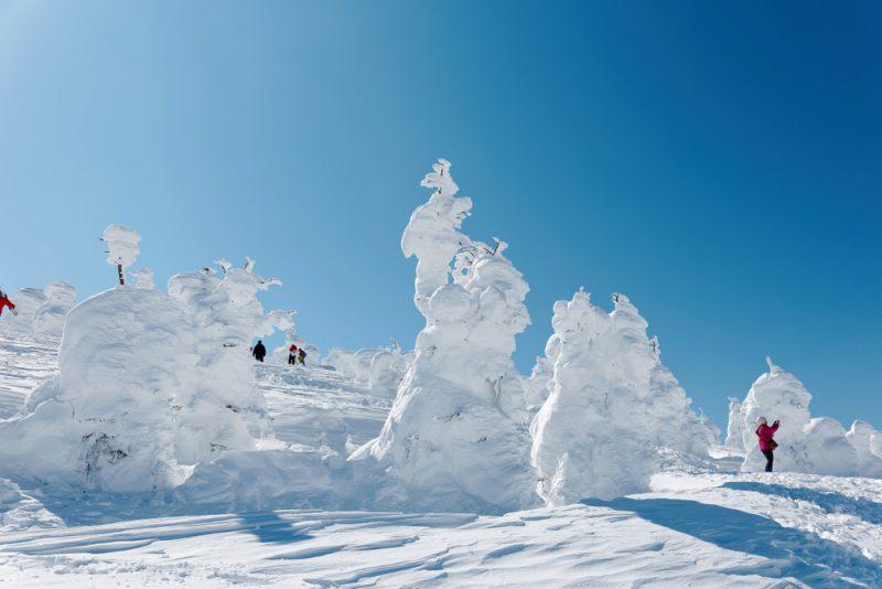 """Perierga.gr - Τα """"τέρατα χιονιού"""" της Ιαπωνίας - Τι είναι και πώς σχηματίζονται"""