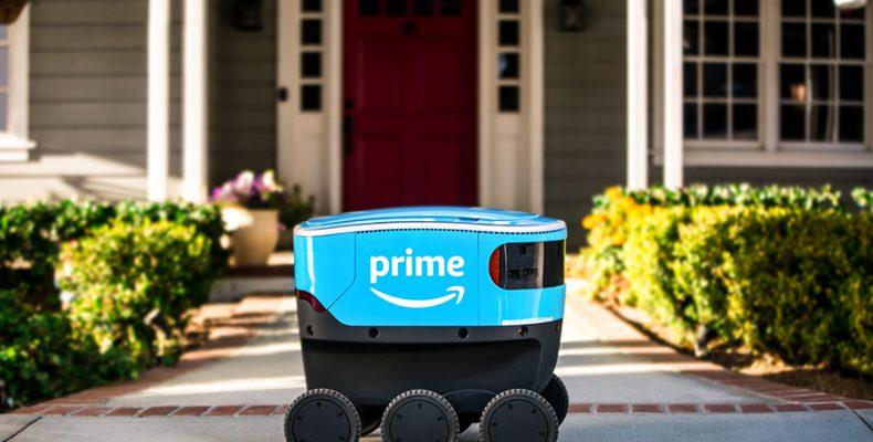 Perierga.gr - Τα ρομπότ της Amazon που θα μεταφέρουν δέματα στο σπίτι