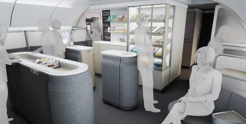 "Perierga.gr - ""Επαναστατικός"" σχεδιασμός στο εσωτερικό της καμπίνας των αεροπλάνων"