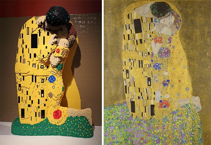 Perierga.gr - Διάσημα έργα... παίρνουν μορφή με τουβλάκια Lego!