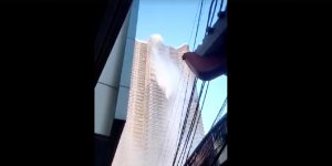 d942b09471 Perierga.gr - Σεισμός κούνησε ουρανοξύστη τόσο που χύθηκε νερό από την  πισίνα του!