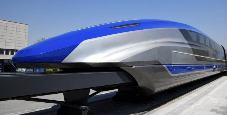 Perierga.gr - Τρένα- σφαίρες: Η κόντρα Κίνας- Ιαπωνίας για τα ταχύτερα τρένα στον κόσμο