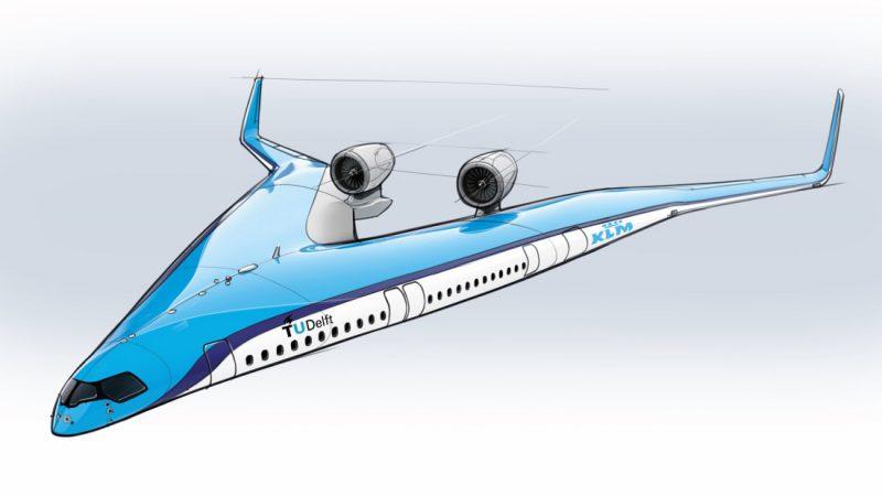 Perierga.gr - Σε σχεδιασμό V τα επιβατηγά αεροσκάφη του μέλλοντος;