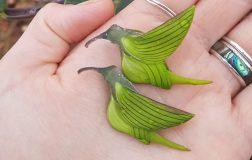Perierga.gr - Φυτό που θυμίζει πουλί