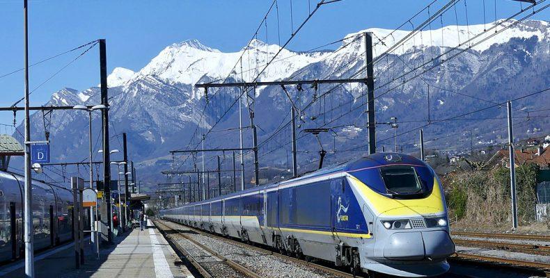 Perierga.gr - Η Eurostar θα φυτεύει ένα δέντρο κάθε φορά που αναχωρεί τρένο της
