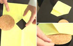 Perierga.gr - Πώς γίνεται ένας μεγάλος κυκλικός δίσκος να χωρέσει μέσα από μια μικρή τετράγωνη οπή;
