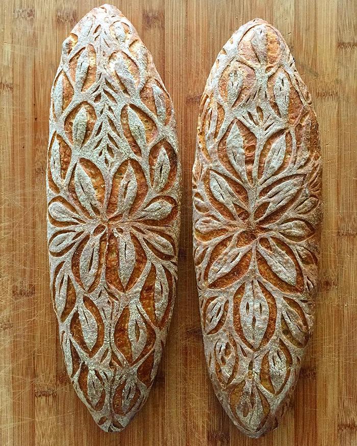 Perierga.gr - Χειροποίητο... σκαλιστό ψωμί!