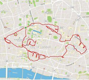 Perierga.gr - Τρέχει και σχηματίζει διάφορα ζώα στον χάρτη