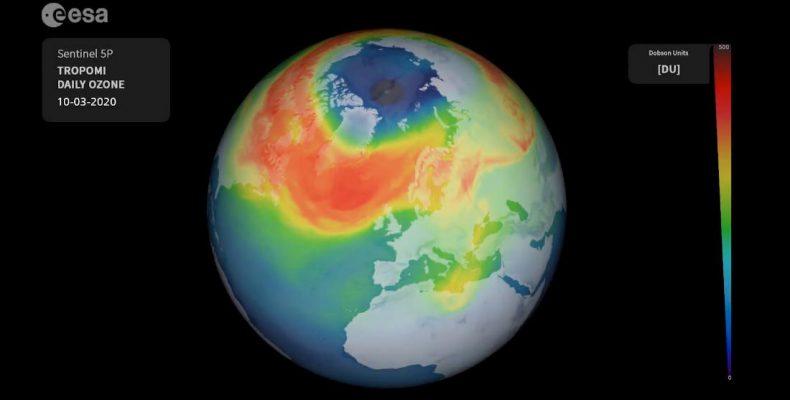 Perierga.gr - Έκλεισε τεράστια τρύπα του όζοντος στον Βόρειο Πόλο