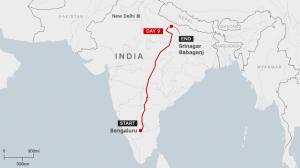 Perierga.gr - Διέσχισε 2.000 χιλιόμετρα σε 10 ημέρες με τα πόδια λόγω κορονοϊού