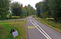 Perierga.gr - Βεννάμπν: Ο βελγικός δρόμος που περνούσε μέσα από τη Γερμανία