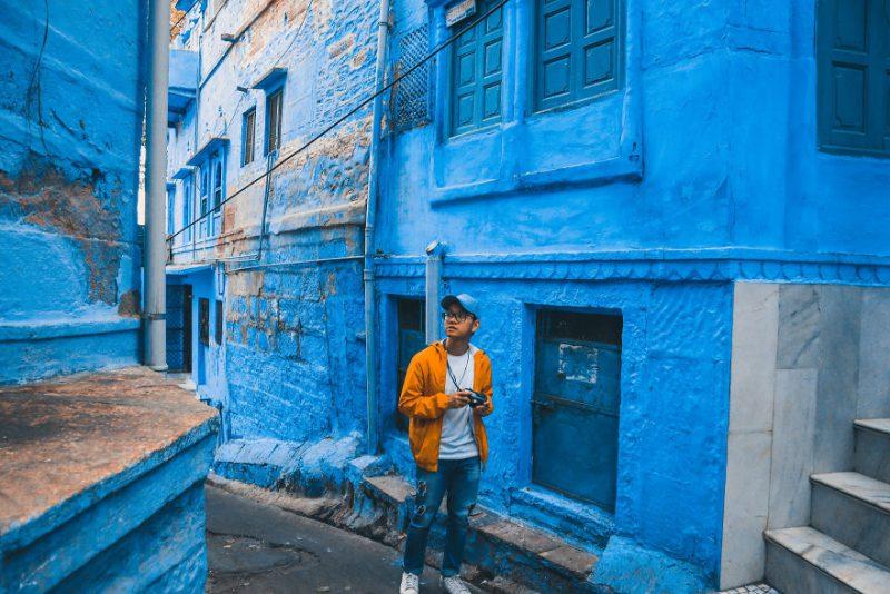 Perierga.gr - Η μπλε πόλη της Ινδίας