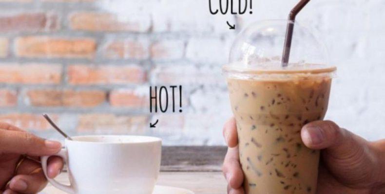 Γιατί ο κρύος και ο ζεστός καφές έχουν διαφορετική γεύση