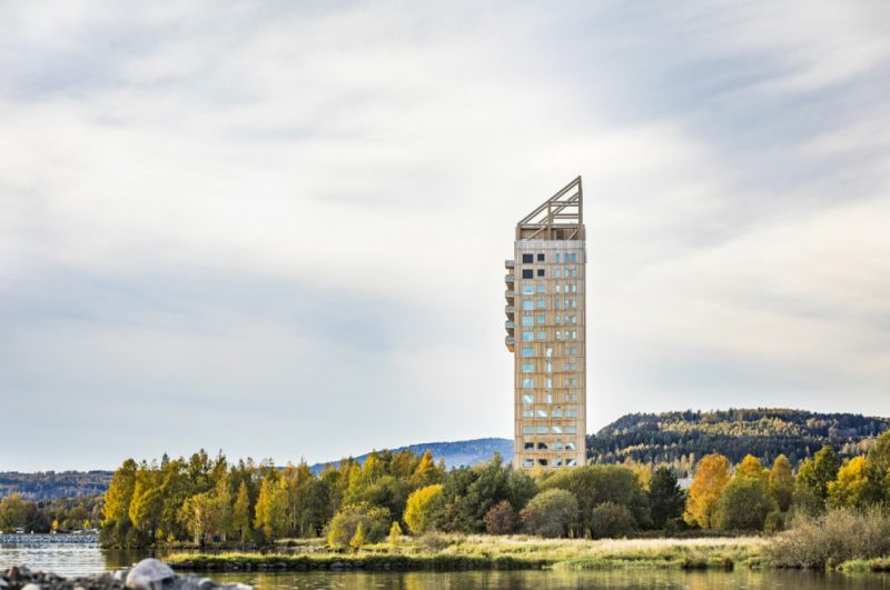 Perierga.gr - Ο ψηλότερος ξύλινος ουρανοξύστης
